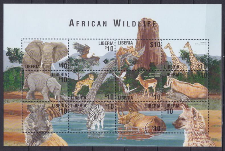 животные на почтовых марках