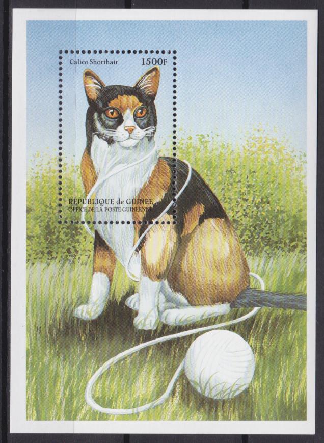 почтовые марки с кошками